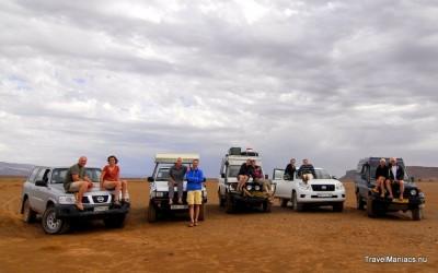Groepsfoto 4x4 deelnemers