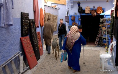 De medina is Chefchaouen