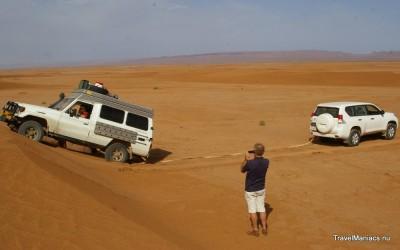 4x4 rijden is begonnen in Marokko!