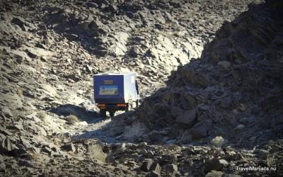 Divorce Pass met de 7 ton zware Unimog van Marc en Rosanna