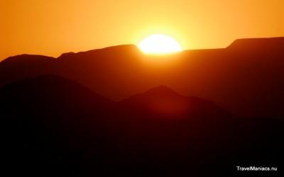 Sunset rond de Brandberg