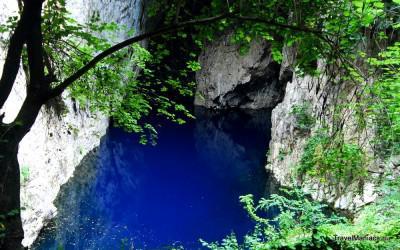 Chinhoyi Caves bij Harare.