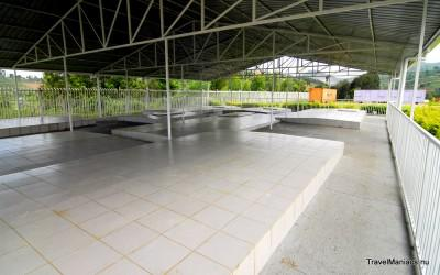 Massabegraafplaatsen in Murambi.