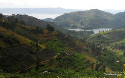 Landschap van Rwanda