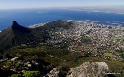 Uitzicht op Kaapstad.