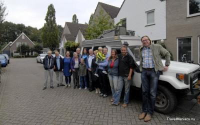 En weer terug voor de deur in Waalwijk.