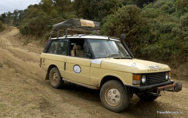 Reisauto-Kenia