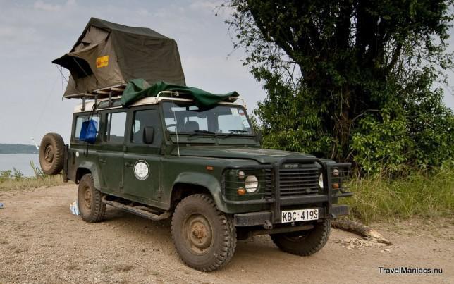 Reisauto-Oeganda